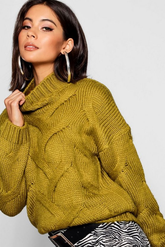 Soft Knit Cable Jumper