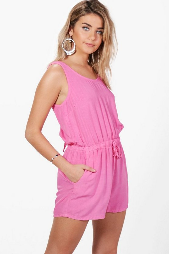 Laurie Tie Back Playsuit