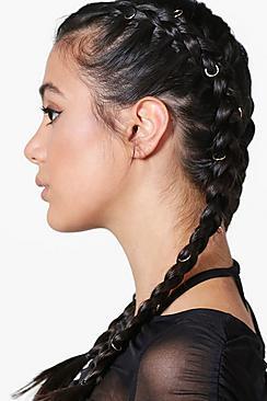Simple Hair Rings 10 Pack