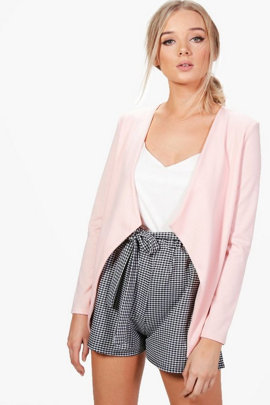 Poppy Shawl Collar Ponte Blazer