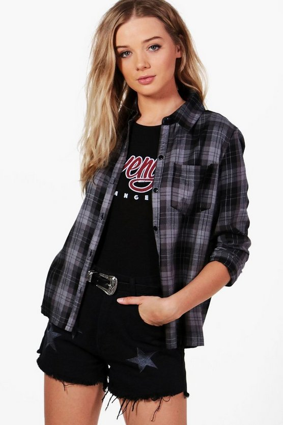 Martha Checked Shirt