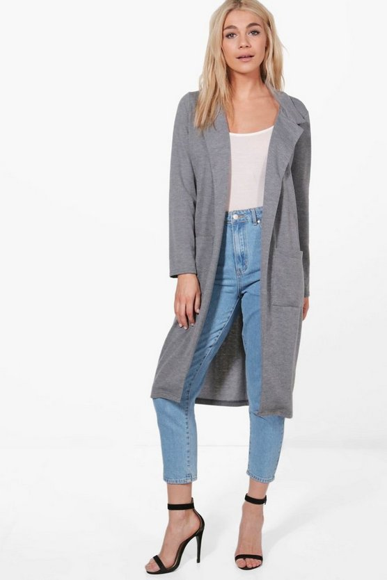 Grace Pocket Ponte Duster