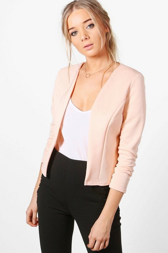 Lucy Crop Fitted Blazer