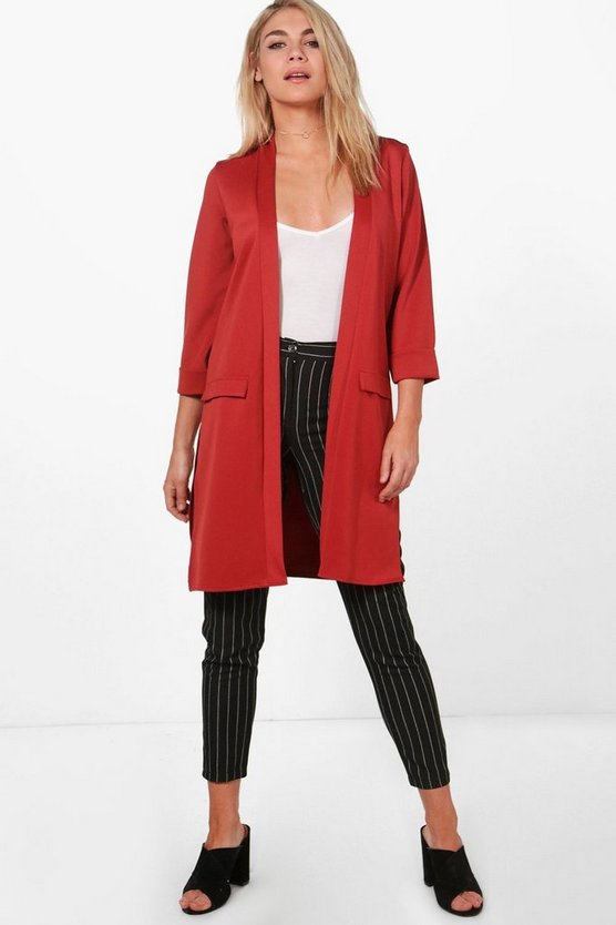 Alice Pocket Duster Coat