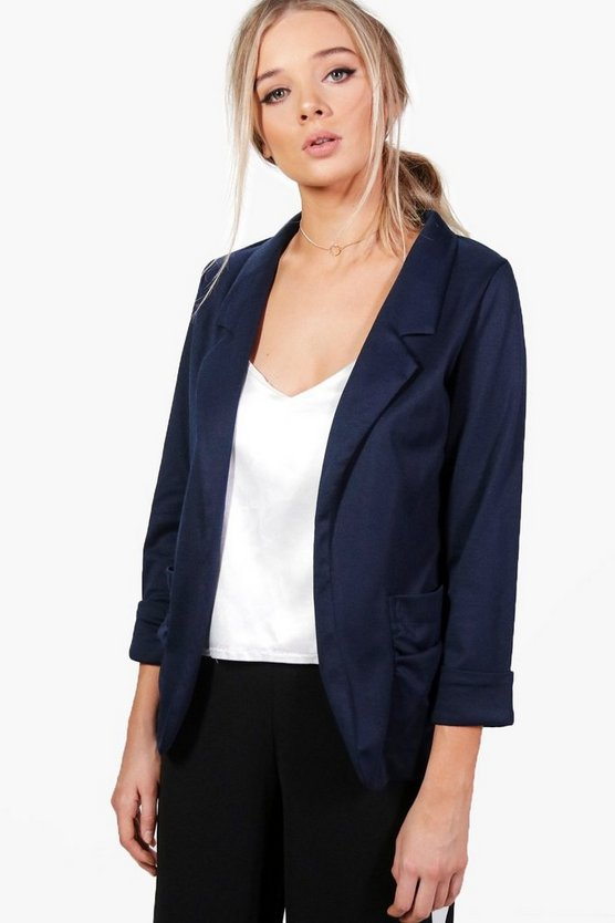 Grace Tailored Ponte Blazer
