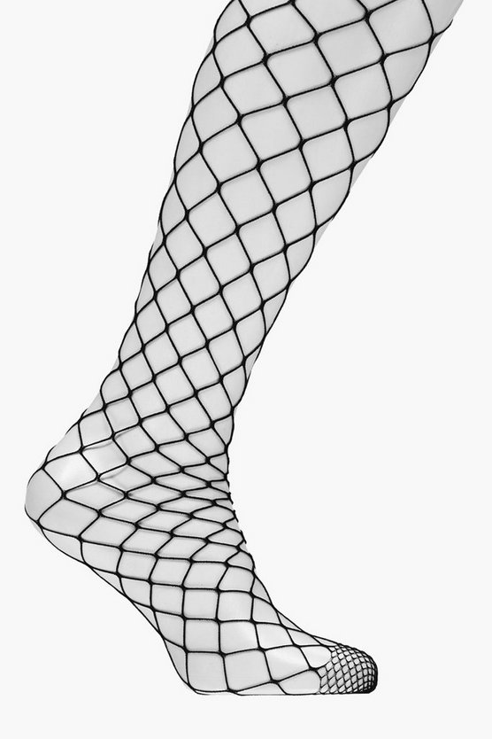 Laura Oversized Diamond Fishnet Tights