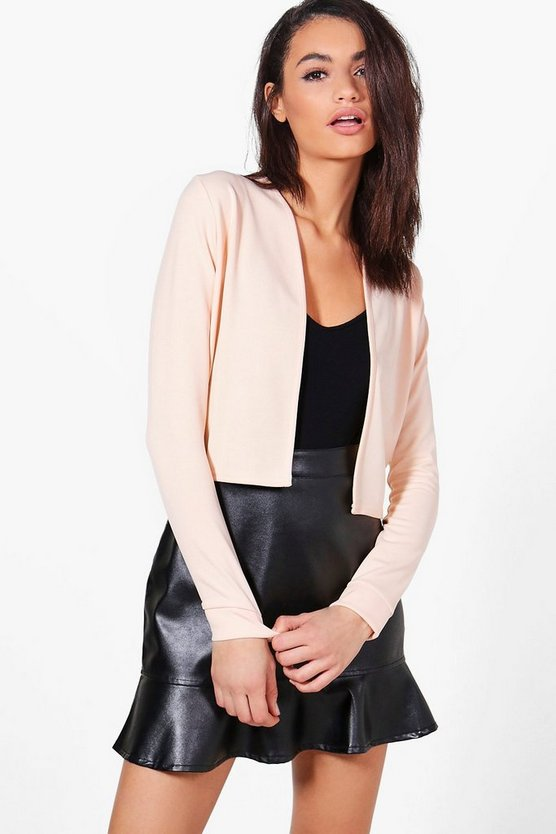 Alice Crop Edge To Edge Jacket