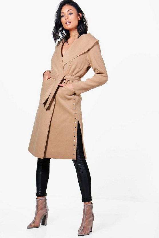 Amber Studded Side Coat