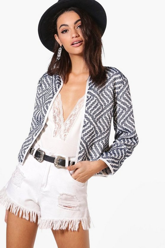 Jackie Jacquard Bed Jacket