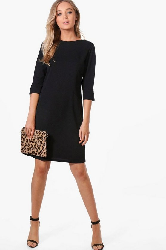 Bianca Tailored Dress With Pocket