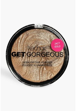 Womens Technic Get Gorgeous 24 Ct Gold Highlighter