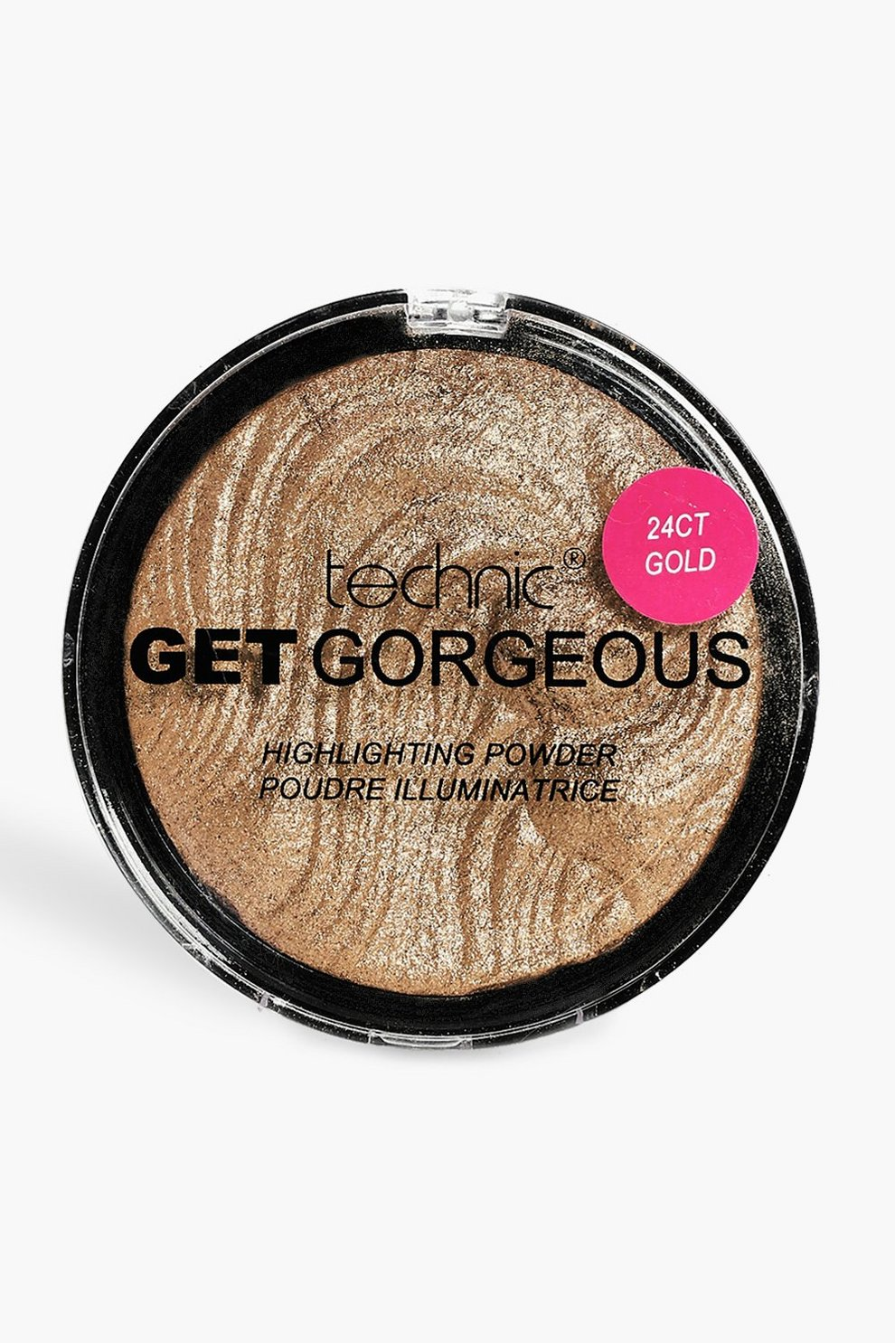 622d4112a71 Technic Get Gorgeous 24 Ct Gold Highlighter | Boohoo