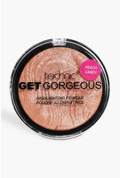 Get gorgeous cipria peach candy illuminante, Pesca, Femmina
