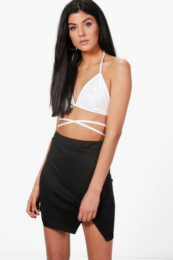 Madisson Wrap Around Tie Waist Bralet