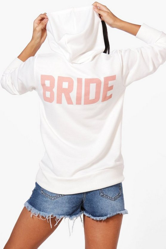 Isobel Bride Slogan Hoody