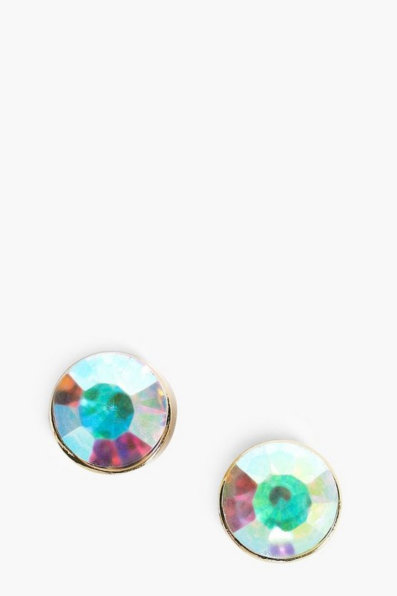 Holographic Stone Earrings