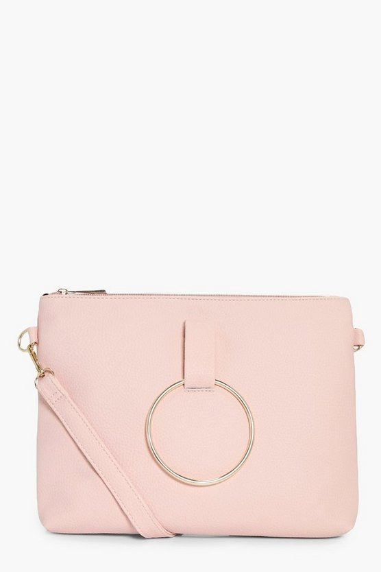Nina Loop Ring Detail Cross Body Bag