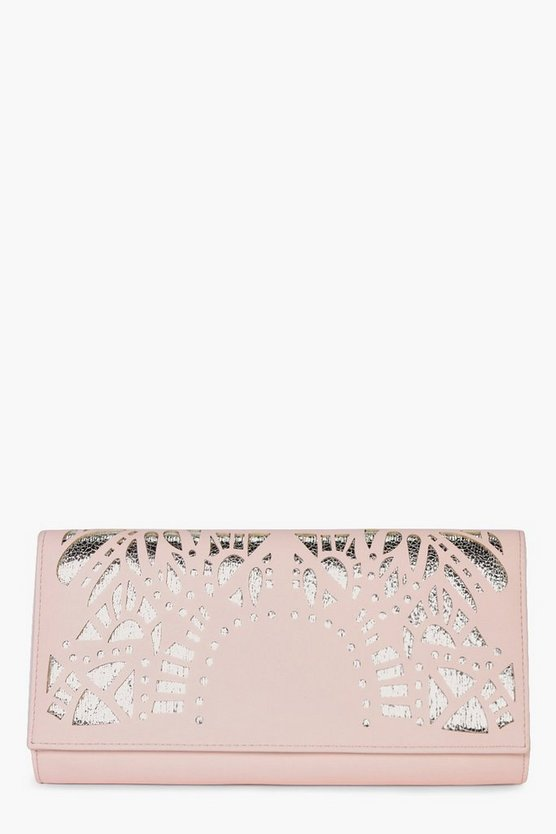 Molly Deco Lazercut Clutch Bag