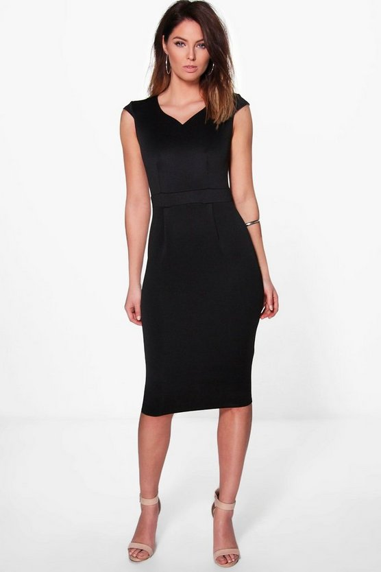 Alexis Fitted Tailored Dress