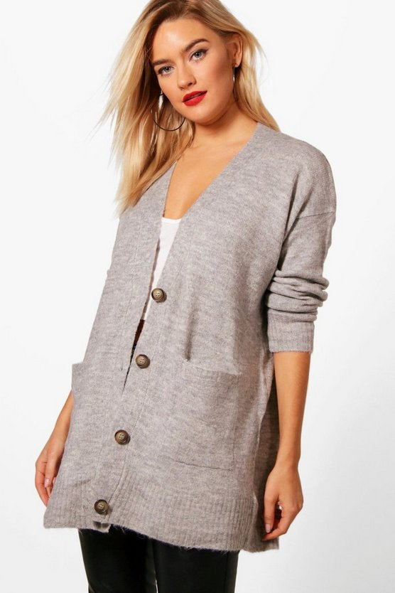 Faye Loose Fit Button Through Cardigan