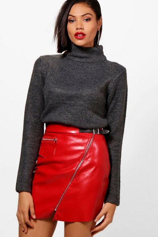 Heidi Funnel Neck Jumper