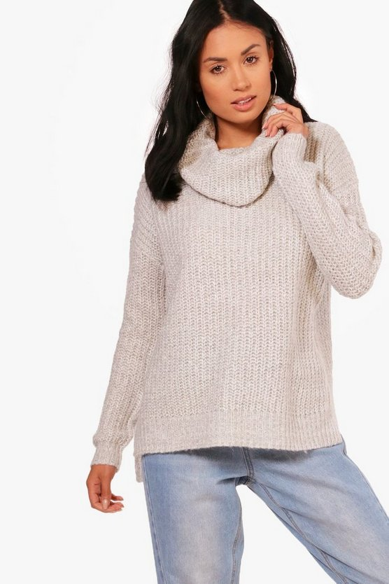 Joanna Loose Fit Cowl Neck Jumper