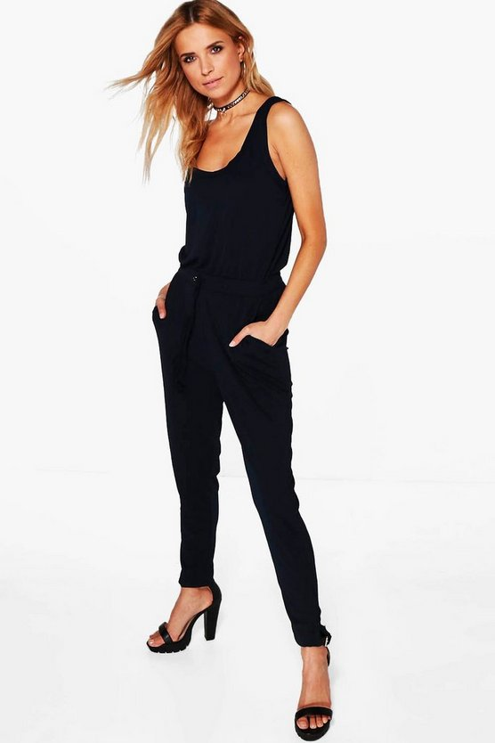 Lara Solid Colour Jumpsuit