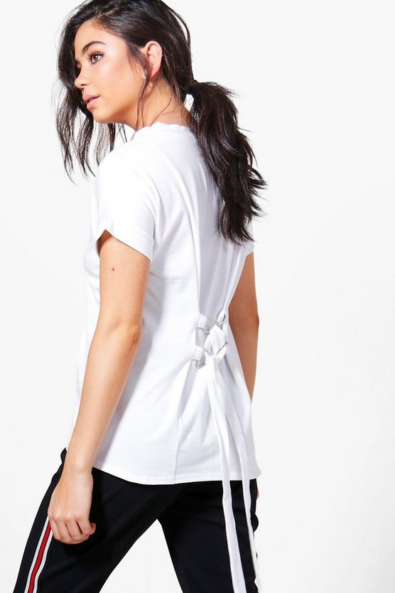 Molly Corset Back T-Shirt