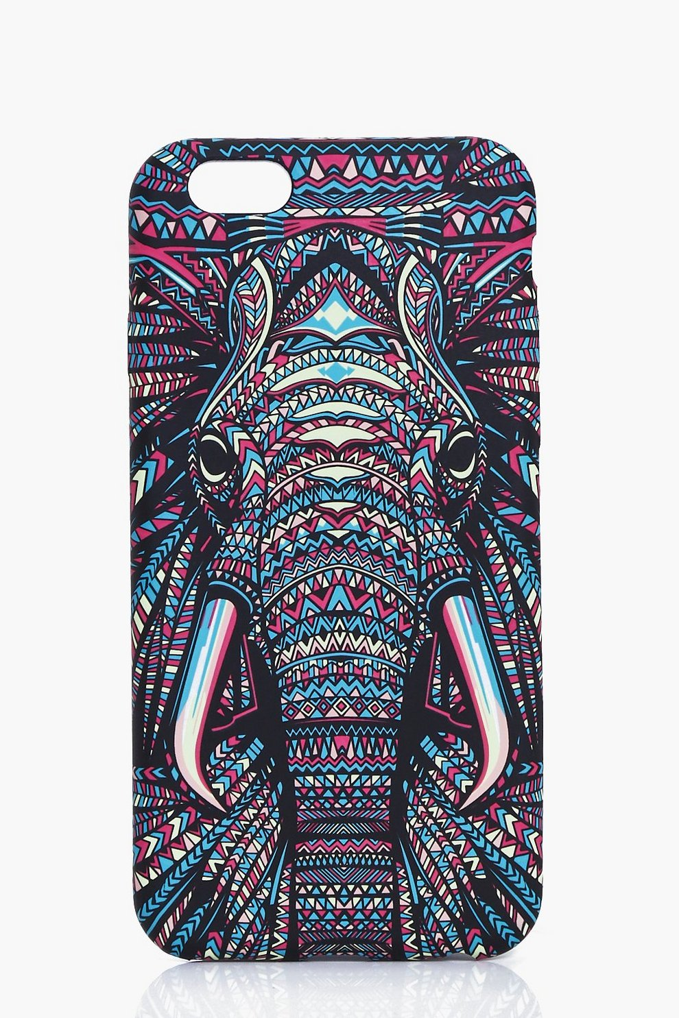 17559d151204 Womens Multi Elephant Aztec Print iPhone Case