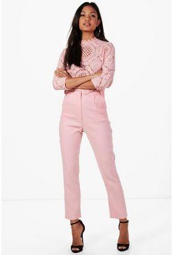 Womens Blush Boutique Crop & Pants Co-Ord Set