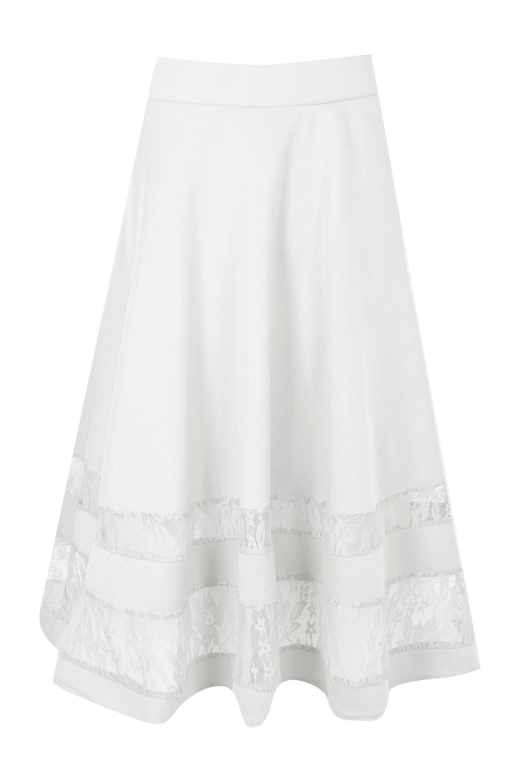 Boohoo-falda-midi-con-inserciones-de-encaje-noemi-para-Mujer
