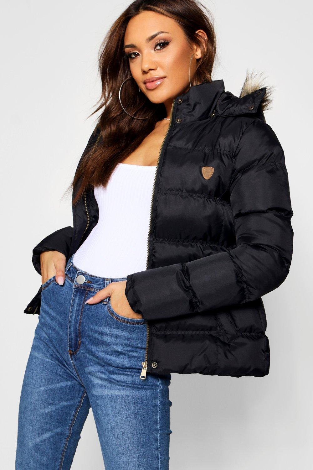Short navy Quilted Short Quilted Jacket IrwqIE
