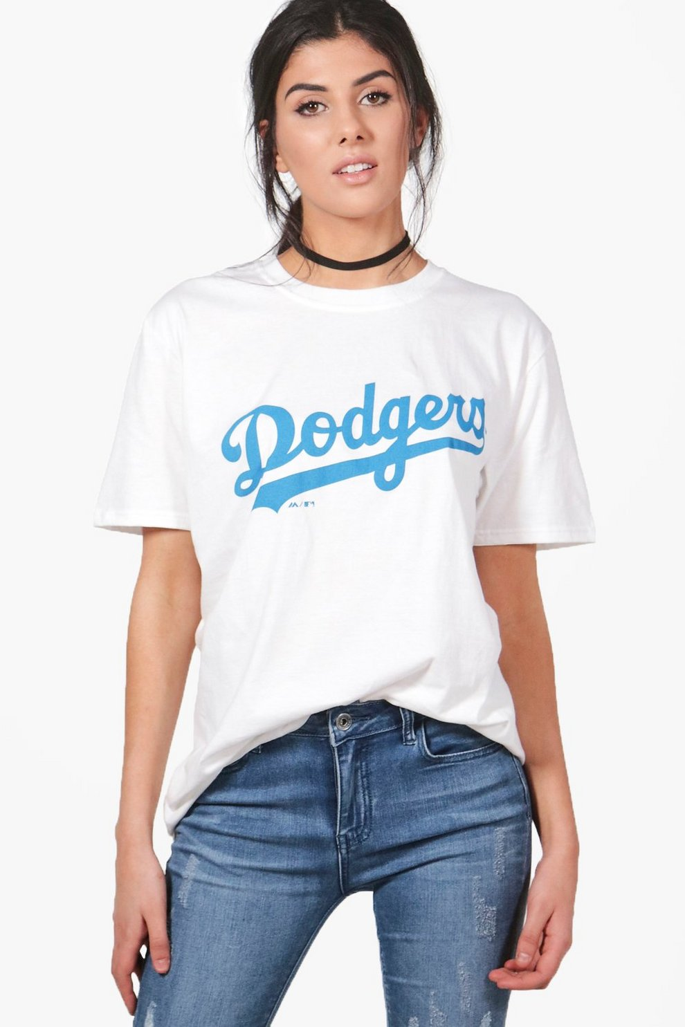 72f4fde4c9e8f Lucy Dodgers Oversized Licence Tee | Boohoo