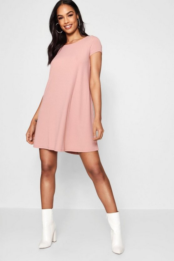 Cap Sleeve Swing Dress