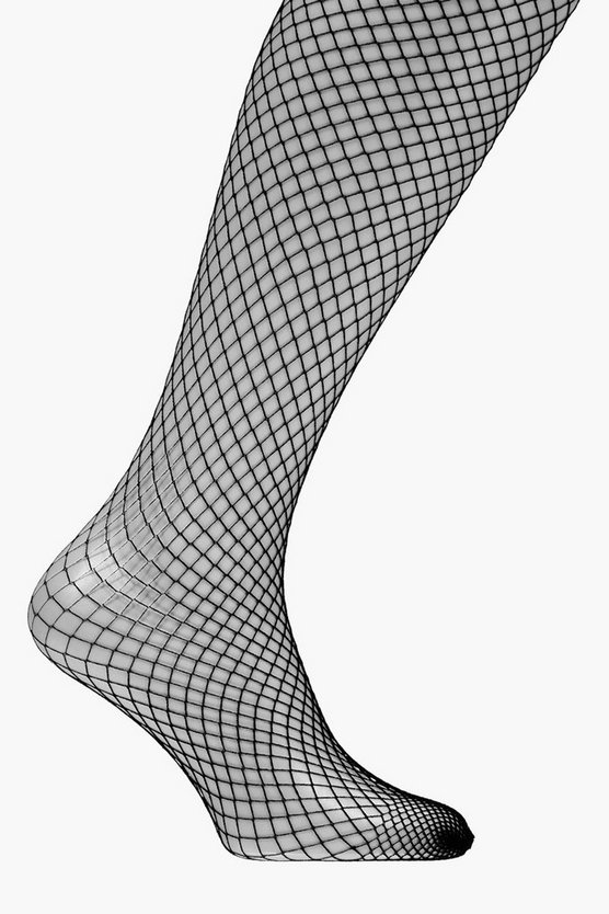 Womens Black Fishnet Tights