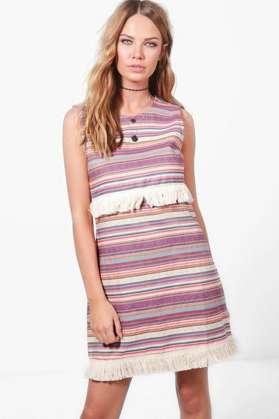 Lucia Aztec Navaho Shift Dress