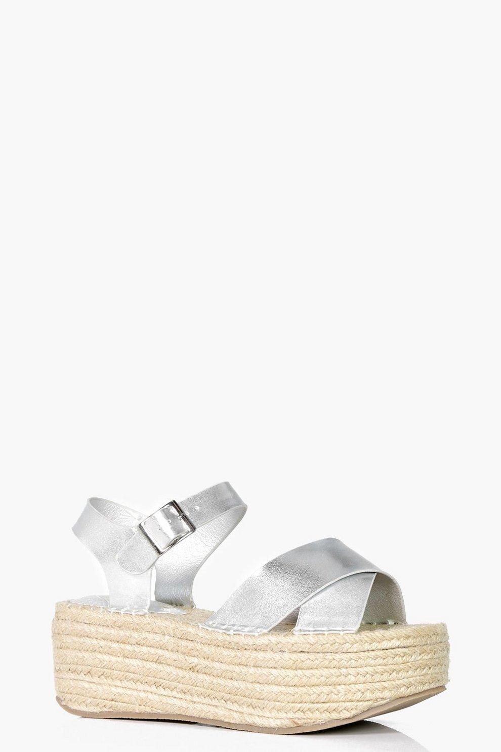 944a5f92ab Faye Flatform Espadrille Sandal | Boohoo