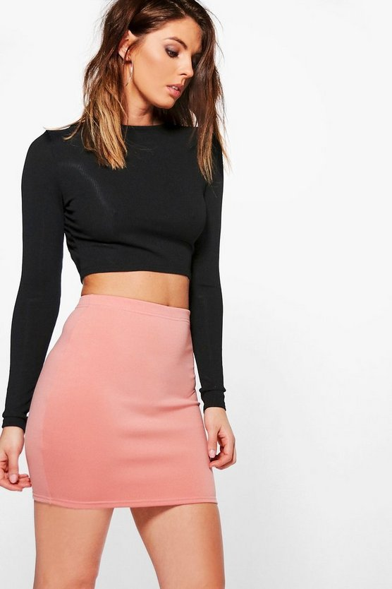 Scuba Basic Mini Skirt