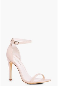 Nude Two Part Heels