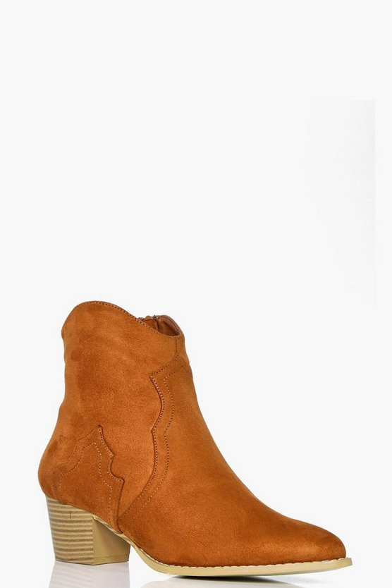Tegan Pointed Toe Western Boot