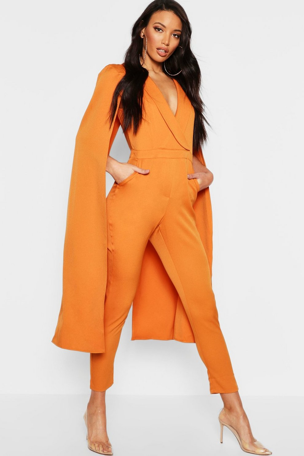 861896a4b5cf Cape Woven Tailored Jumpsuit. Cape Woven Tailored Jumpsuit. Hover to zoom