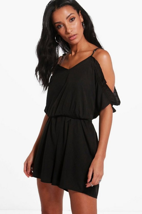 Open Shoulder Playsuit