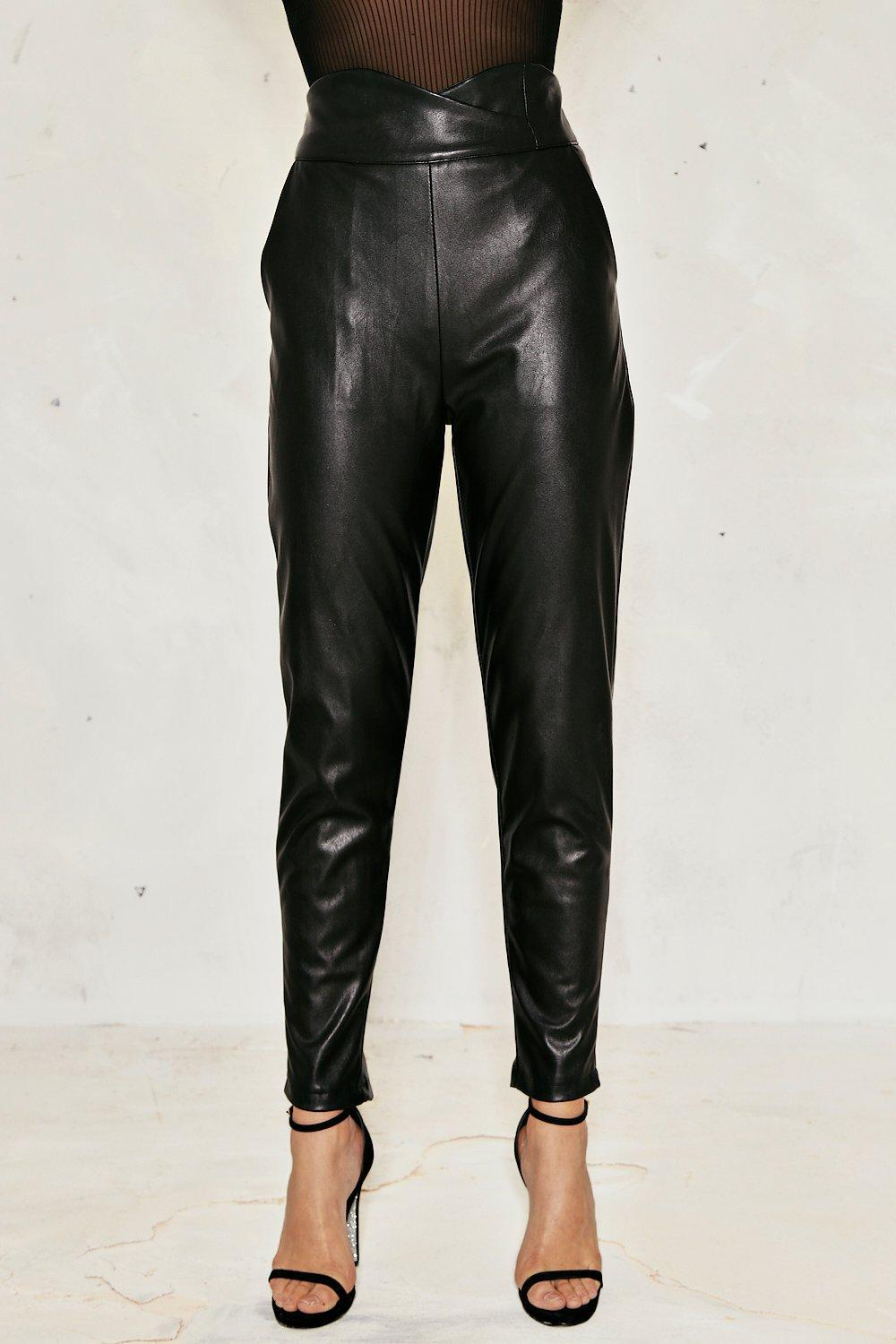 eb660b9b2492a Felicity Faux Leather Pants | Shop Clothes at Nasty Gal!
