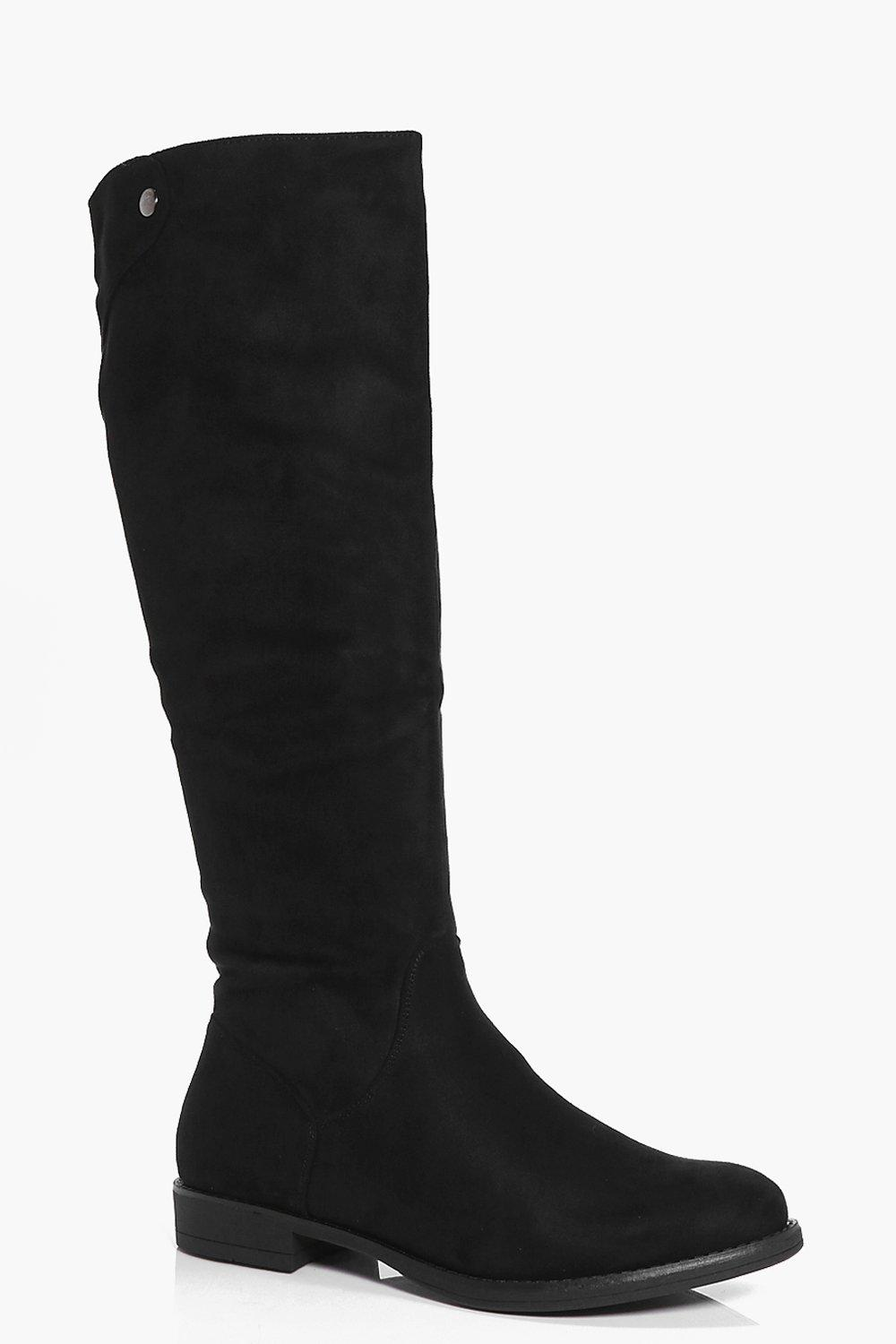 a7eb47800c3 Rebecca Flat Knee High Boot. Hover to zoom