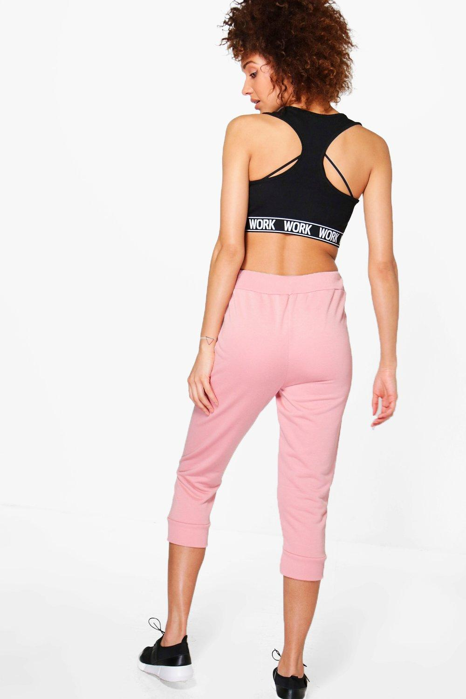 fit Rose boohoo jogging da pantaloni running corti RYqw6xFqT0