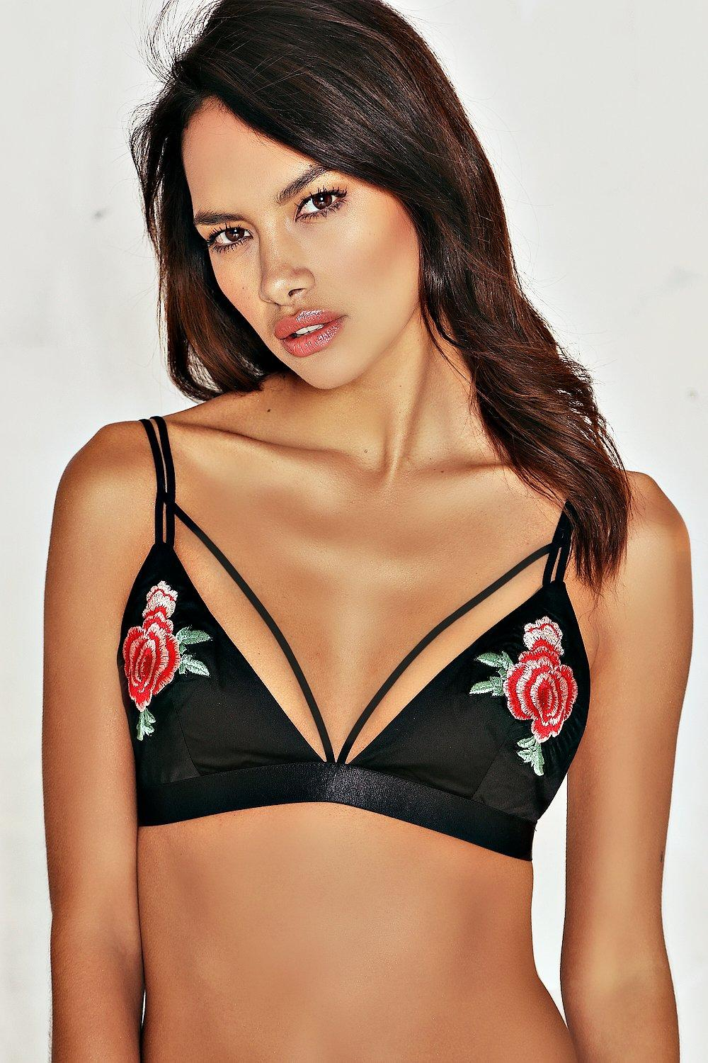 f5105e4793 Dina Embroidered Bralette