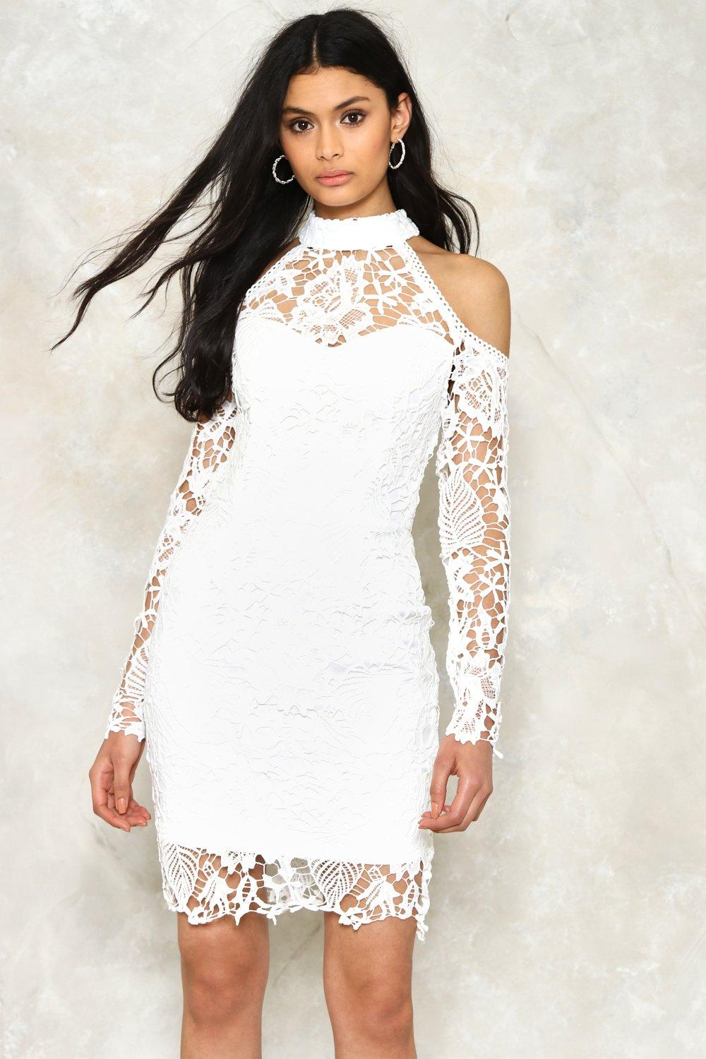 Alexandra Crochet Dress Shop Clothes At Nasty Gal