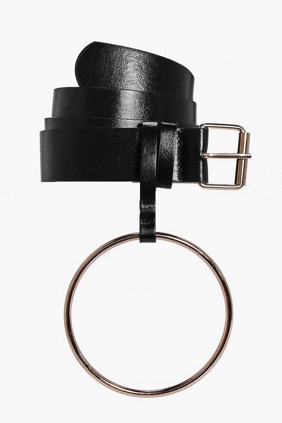 Oversize Loop Detail Belt