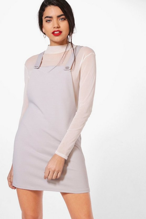 Emma Tailored Pinafore Dress