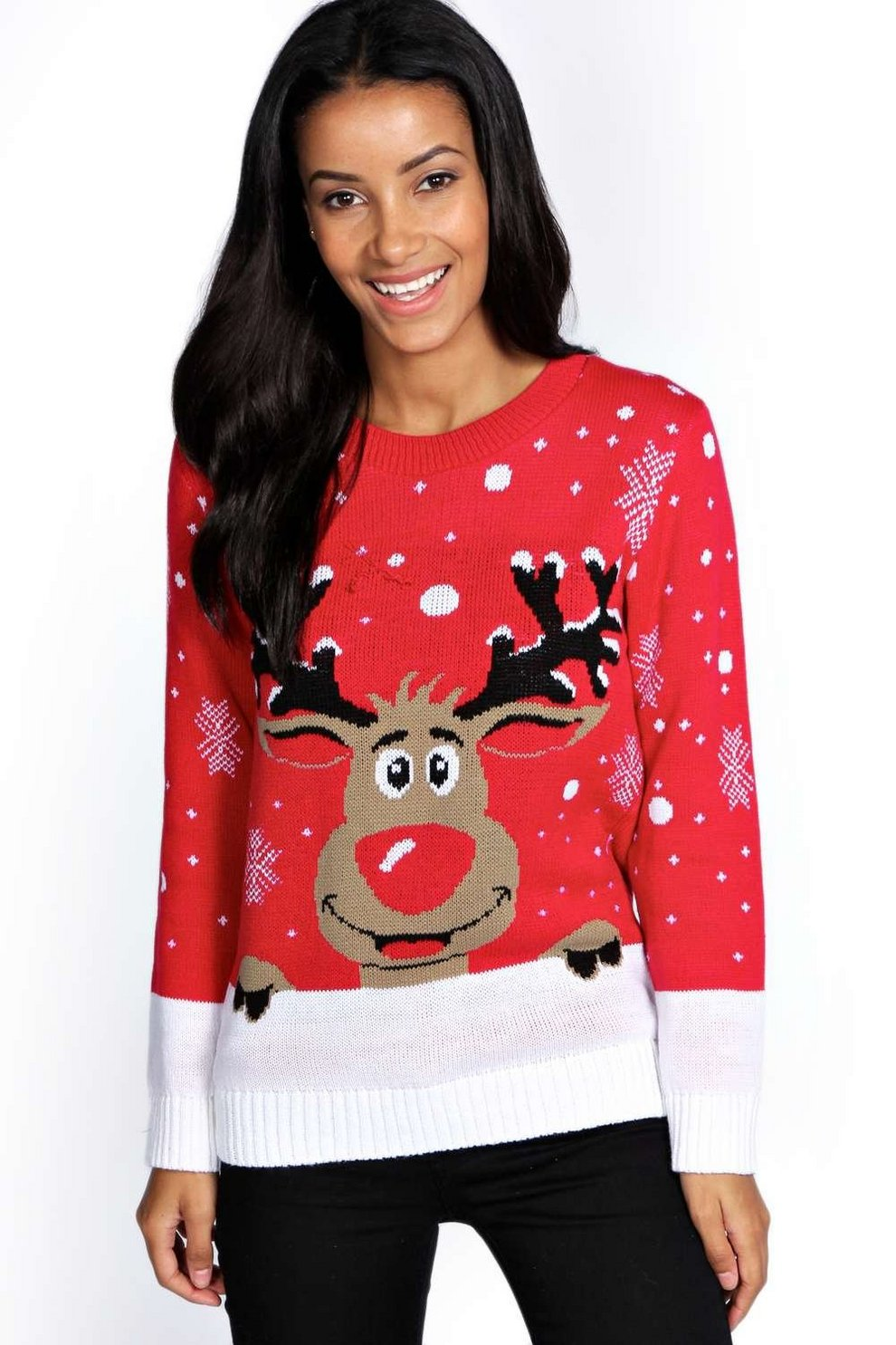 boohoo womens christmas jumpers